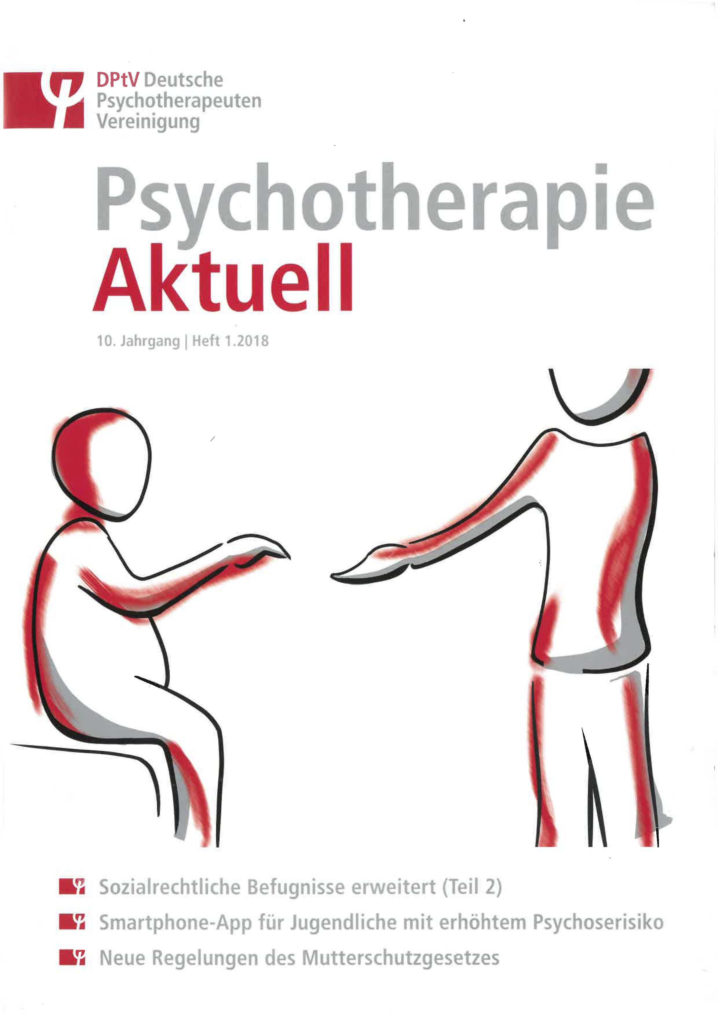 Psychotherapie aktuell Cover